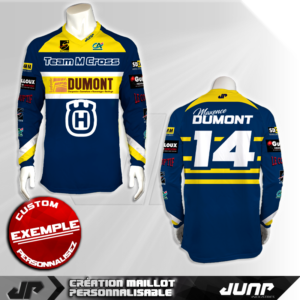 personnalisation maillot fremont jump industries