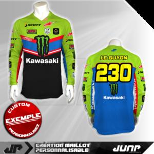 personnalisation maillot laredo jump industries