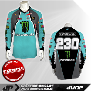 personnalisation maillot sitka jump industries