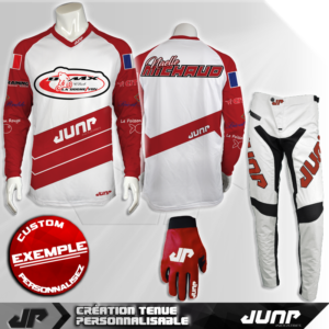 tenue bmx vtt mtb dh personnalise prague jump industries