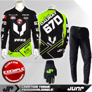 tenue bmx vtt mtb dh personnalise bucarest jump industries