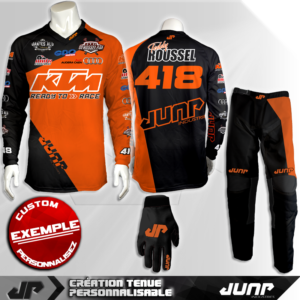 tenue personnalise custom mx outfit arlington jump industries