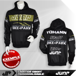 sweat capuche hoodie personnalise jump industries