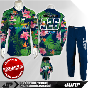 tenue personnalise custom mx outfit waian jump industries