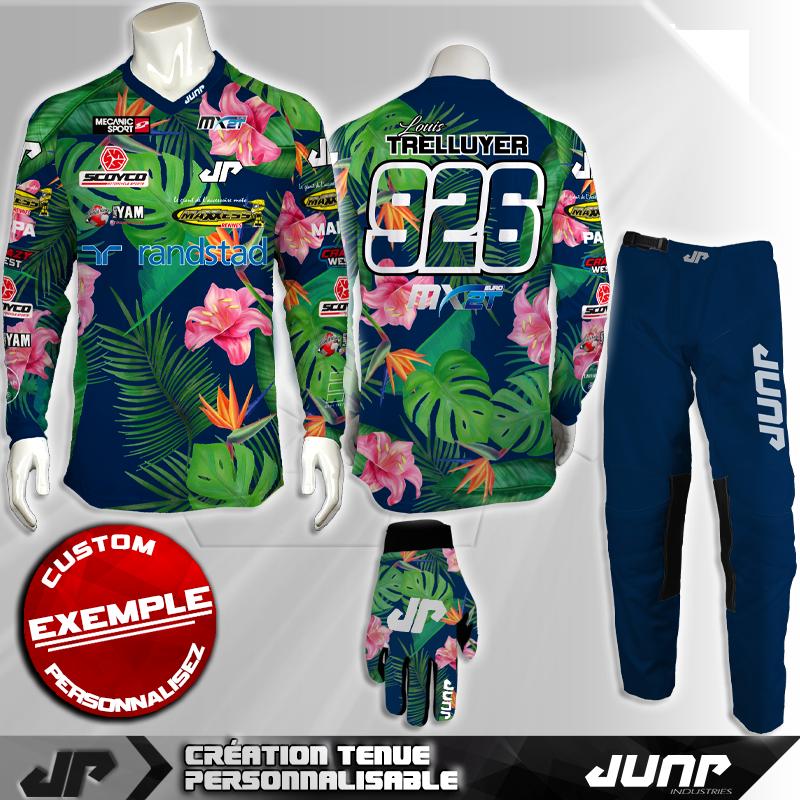 tenue personnalise custom mx outfit waian jump industries