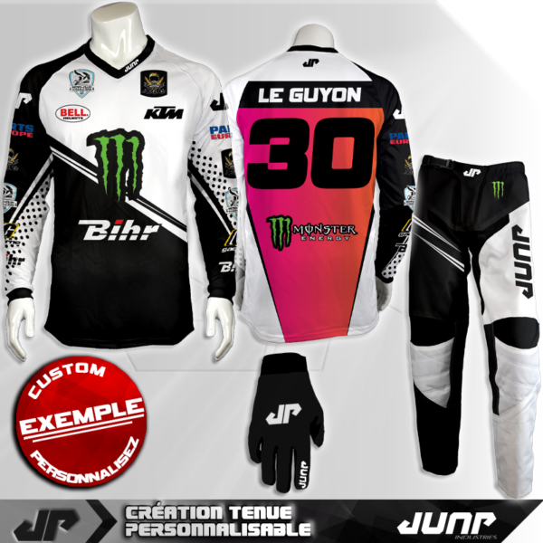 tenue personnalise custom mx outfit henzal jump industries