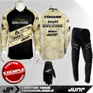 tenue bmx vtt mtb dh personnalise singletracks jump industries