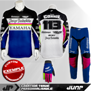 tenue personnalise custom mx outfit sacramento jump industries
