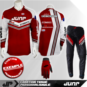 tenue bmx vtt mtb dh personnalise baltimore jump industries