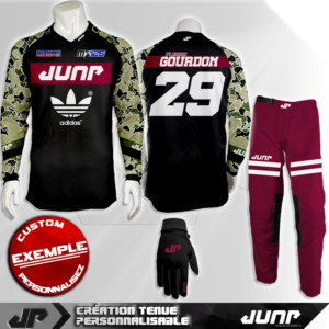 tenue personnalise custom mx outfit indiana jump industries