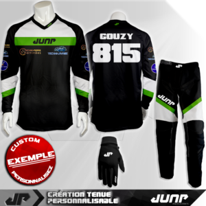tenue personnalise custom mx outfit kansas jump industries