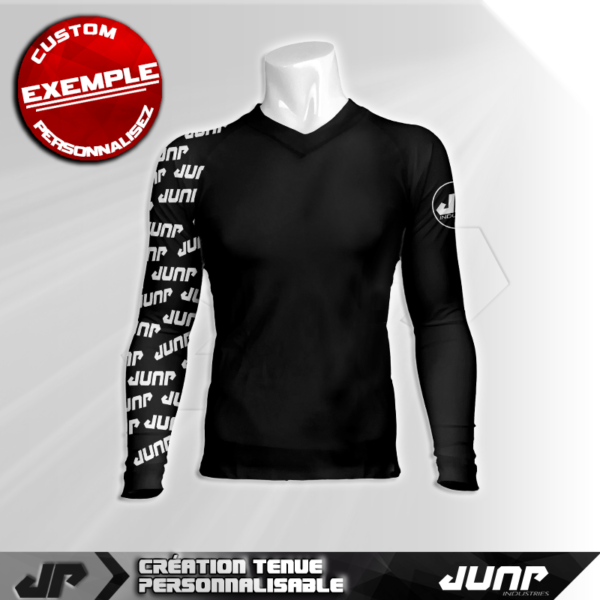 maillot slim compression jack personnalise jump industries