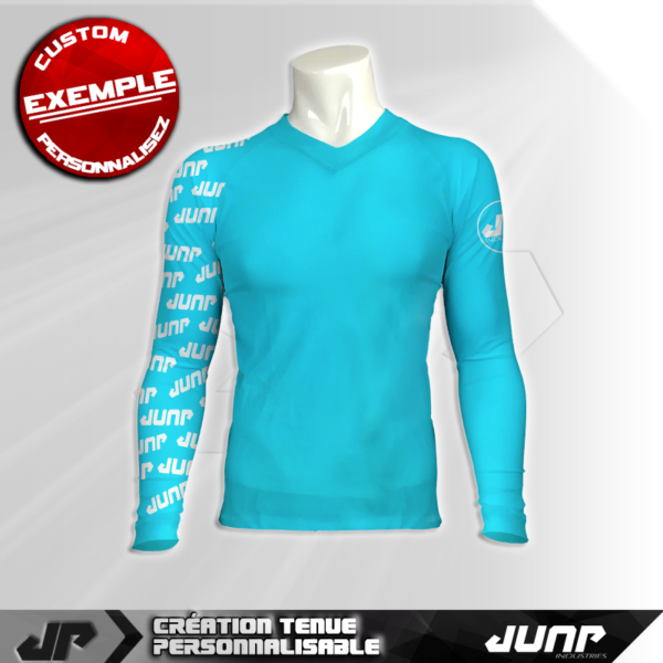 maillot slim compression jyan personnalise jump industries