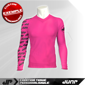 maillot slim compression jink personnalise jump industries