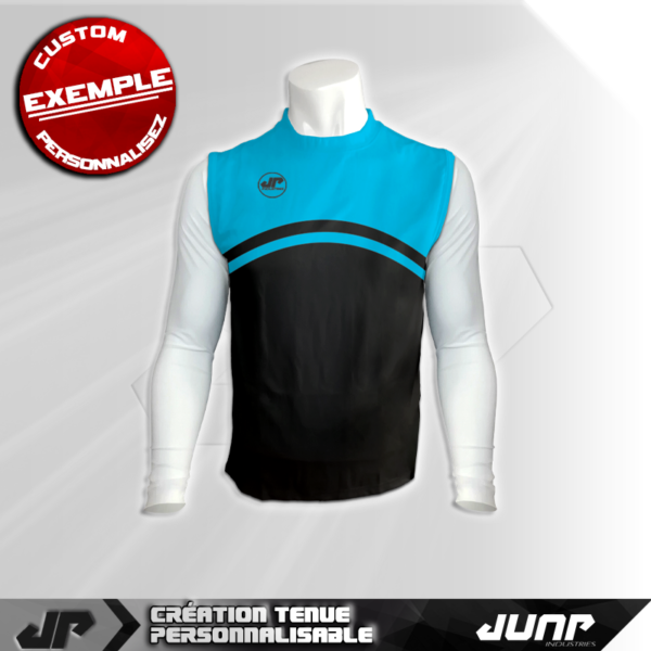 maillot debardeur compression cliffen personnalise jump industries