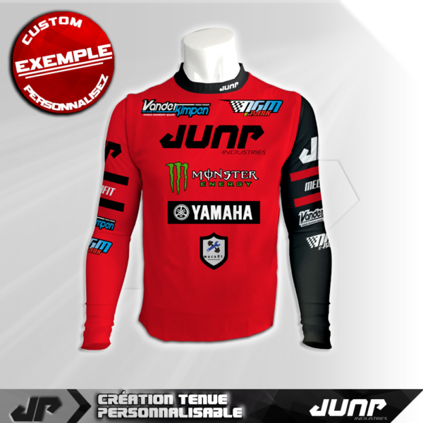 maillot compression personnalise crimsza jump industries