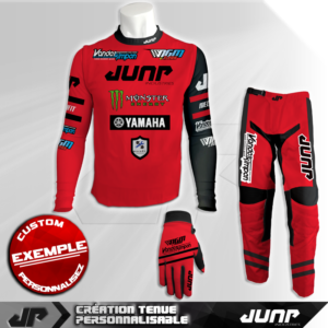 tenue compression personnalise mx bmx vtt dh crimsza jump industries