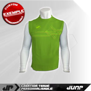 maillot debardeur compression digiture personnalise jump industries