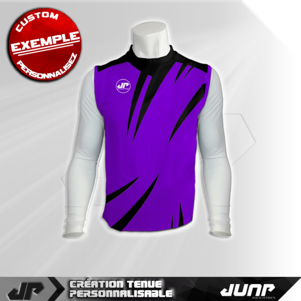 maillot debardeur compression eyestorm personnalise jump industries