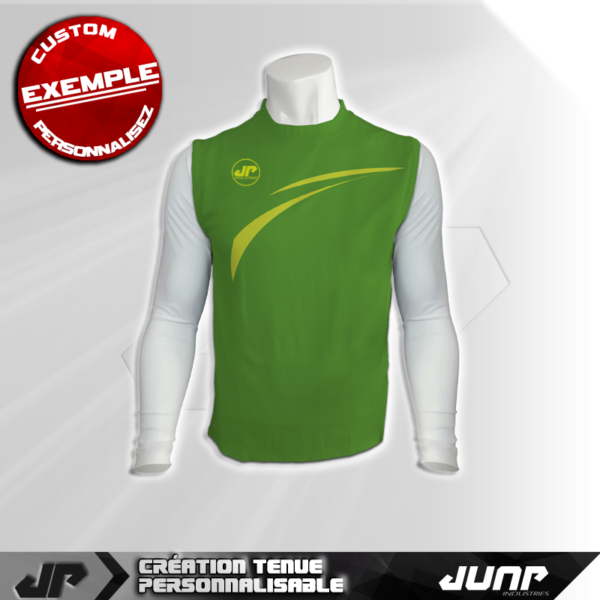 maillot debardeur compression flysprine personnalise jump industries
