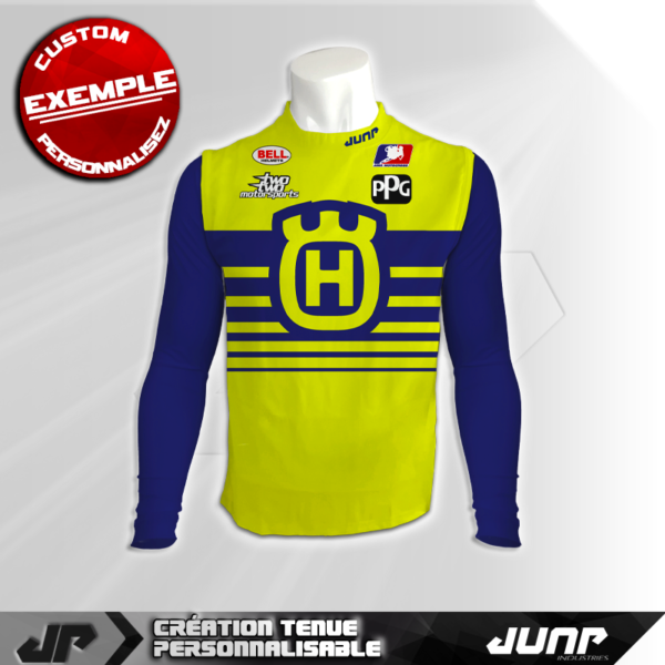 maillot compression personnalise grayson jump industries