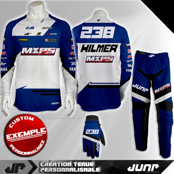 tenue personnalise custom mx outfit columbus jump industries