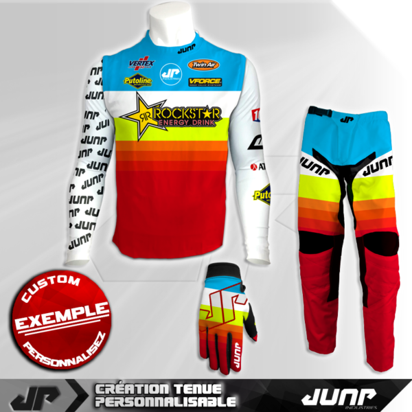 tenue compression personnalise mx bmx vtt dh icefruit jump industries