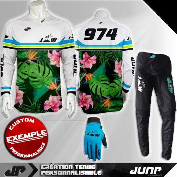 tenue bmx vtt mtb dh personnalise aïwave jump industries