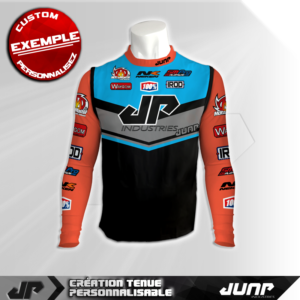 maillot compression personnalise koral jump industries