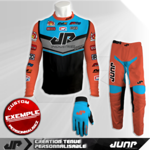 tenue compression personnalise mx bmx vtt dh koral jump industries
