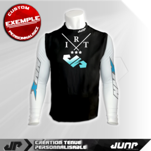 maillot compression personnalise lightar jump industries