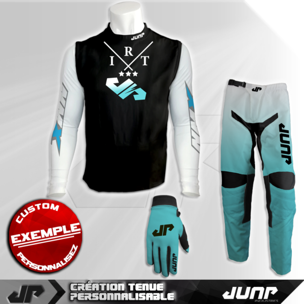 tenue compression personnalise mx bmx vtt dh lightar jump industries