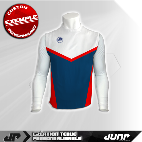 maillot debardeur compression lineus personnalise jump industries