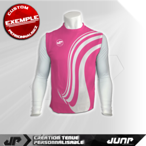 maillot debardeur compression malabeam personnalise jump industries