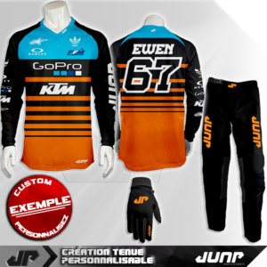 tenue personnalise custom mx outfit san diego jump industries