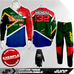 tenue personnalise custom mx outfit pretoria jump industries
