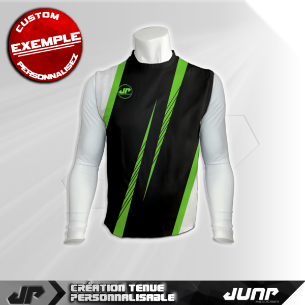 maillot debardeur compression monstanium personnalise jump industries