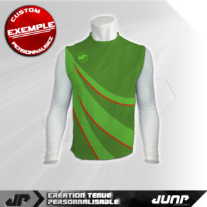 maillot debardeur compression nearfall personnalise jump industries