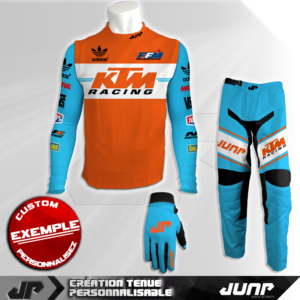 tenue compression personnalise mx bmx vtt dh peredur jump industries