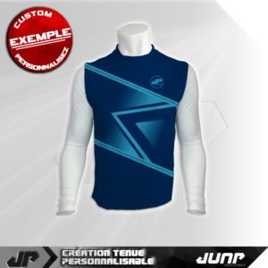 maillot debardeur compression pyksberg personnalise jump industries