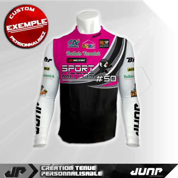 maillot compression personnalise runway jump industries