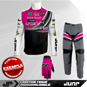 tenue compression personnalise mx bmx vtt dh runway jump industries