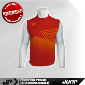 maillot debardeur compression sharflam personnalise jump industries