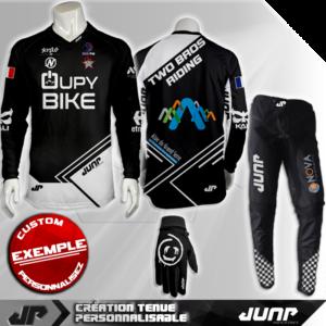 tenue bmx vtt mtb dh personnalise salt lake jump industries