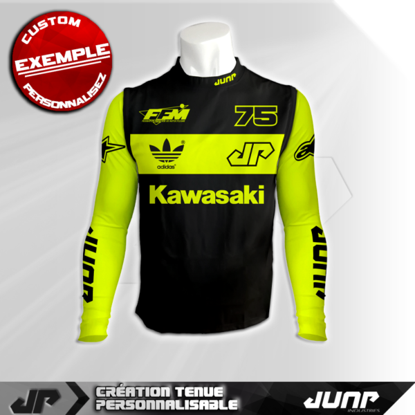 maillot compression personnalise waspen jump industries