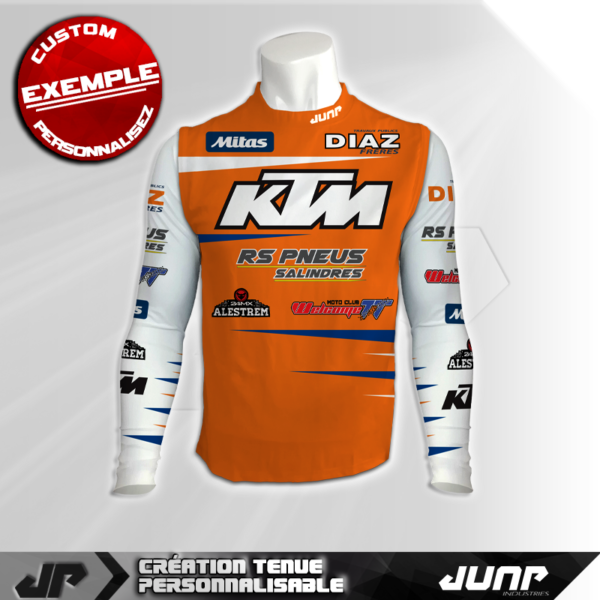 maillot compression personnalise whitiger jump industries