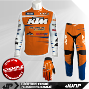 tenue compression personnalise mx bmx vtt dh whitiger jump industries