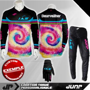 tenue bmx vtt mtb dh personnalise reno jump industries