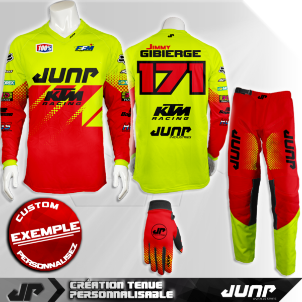 tenue personnalise custom mx outfit calgary jump industries