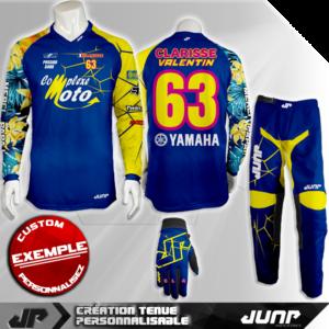 tenue personnalise custom mx outfit long island jump industries